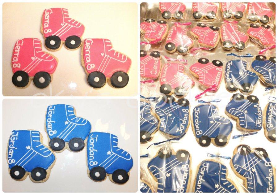 rollerskate cookies 3