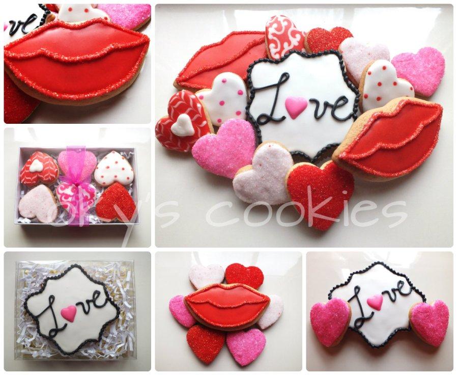 valentine's day cookies 2