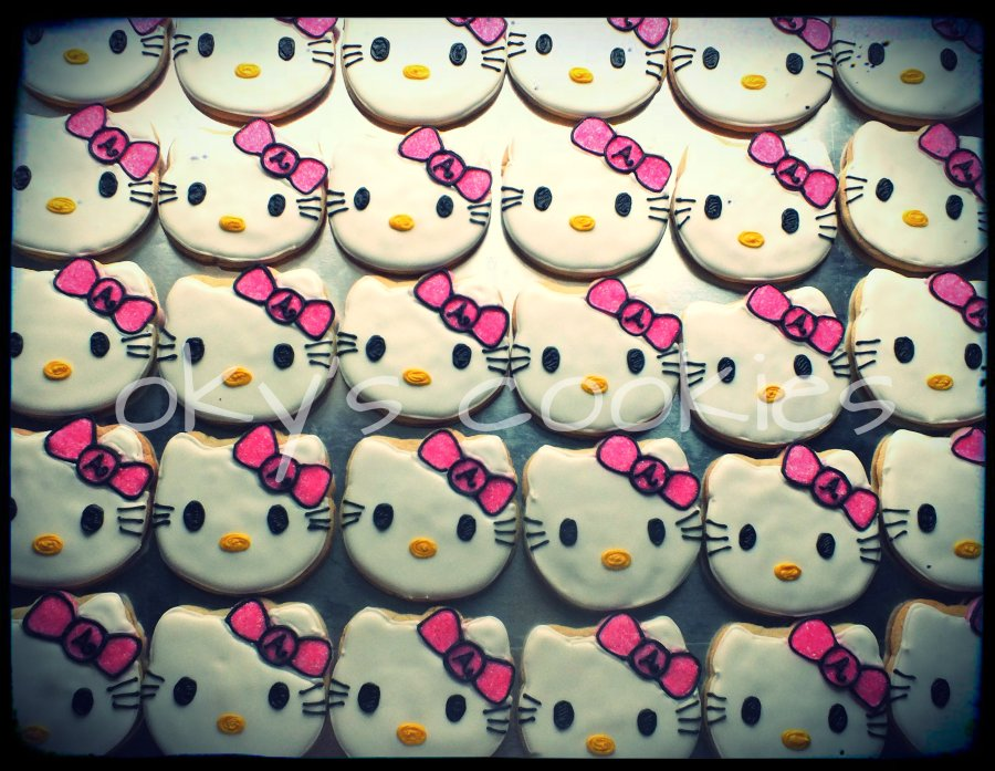 character cookies 333