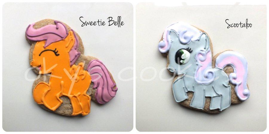 character cookies 48