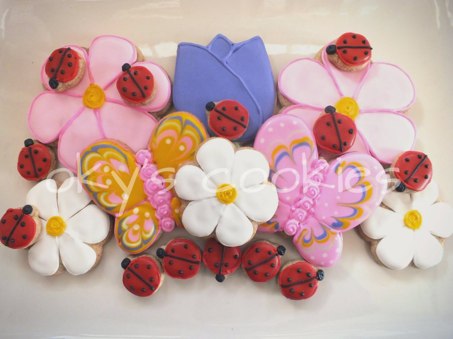 flower cookies 13