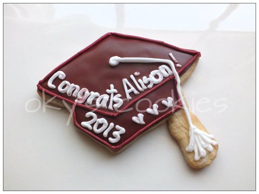 Graduation cookies 6