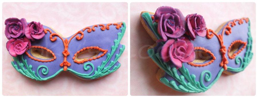 Masquerade cookies 6