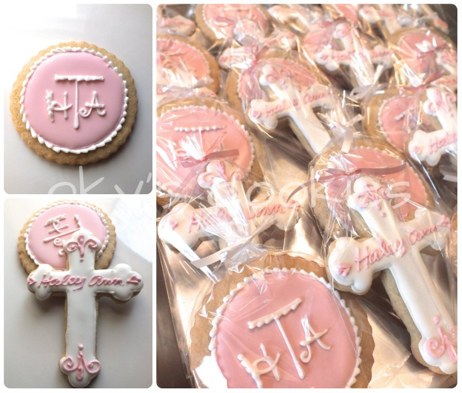 christening communion cookies 88