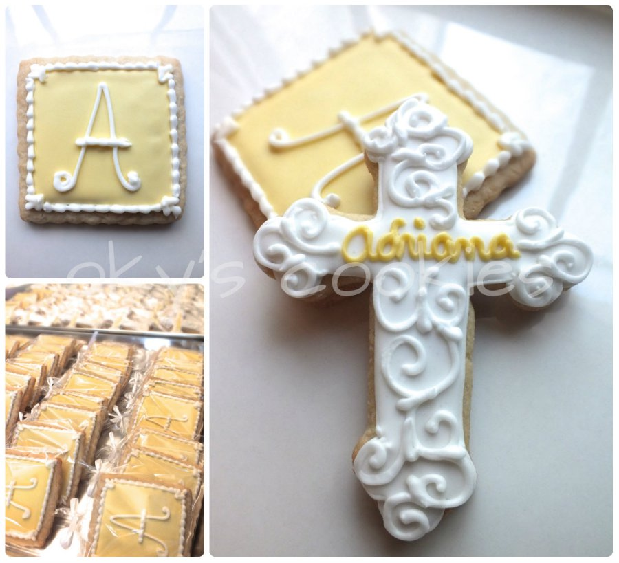 christening communion cookies 99