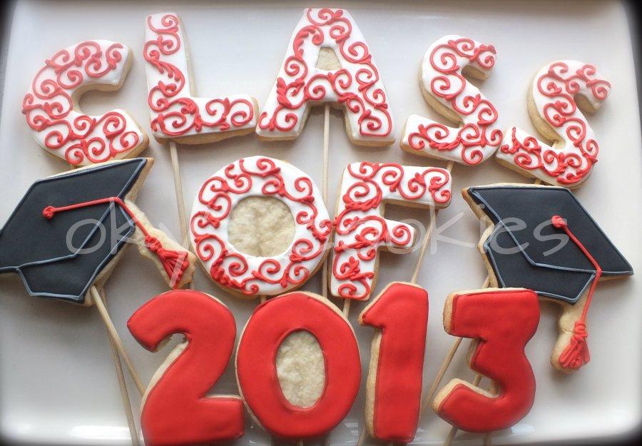 Graduation cookies 44