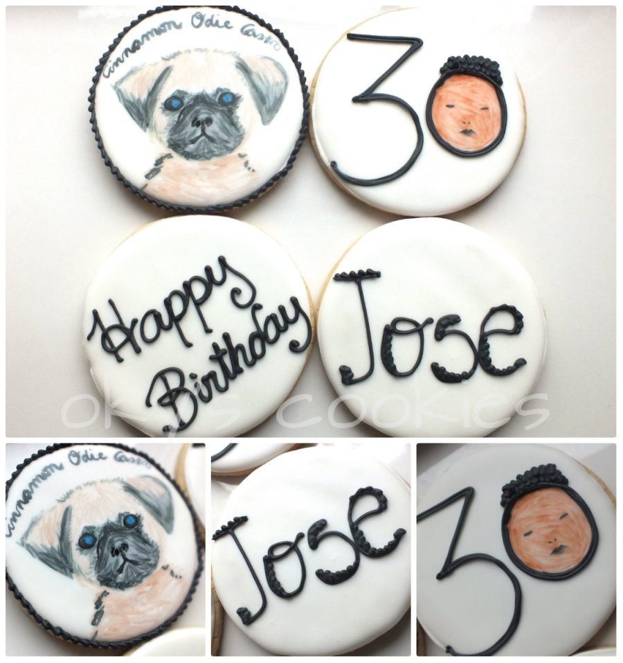 hand painted cookies 45