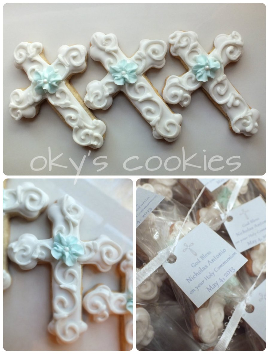 chirstening and communion cookies 87