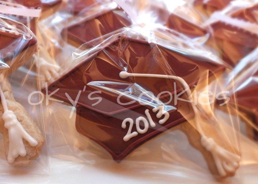 graduation cookies 55