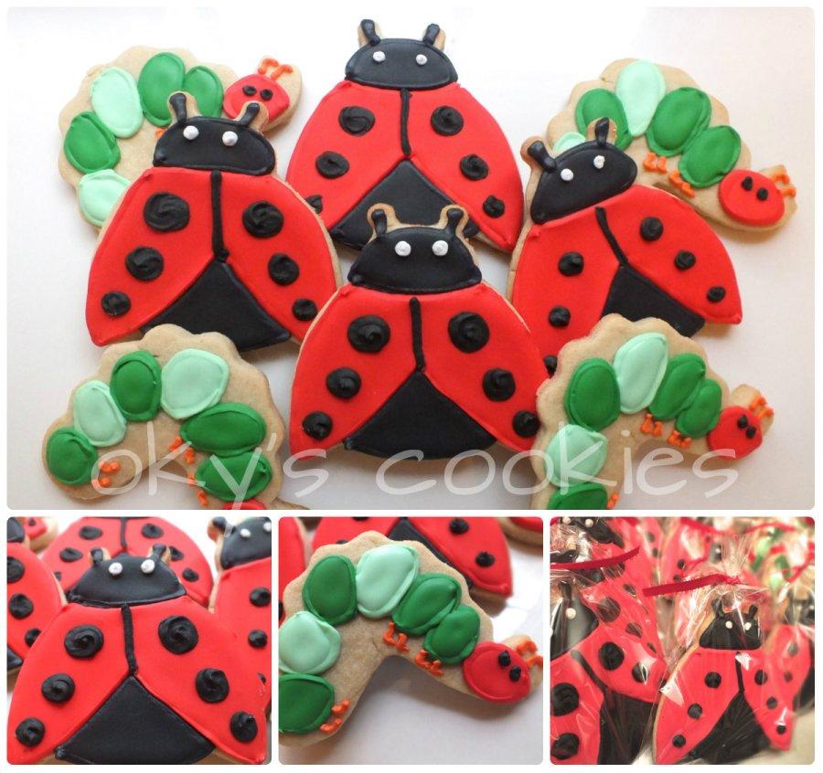 animal & bug cookies 99