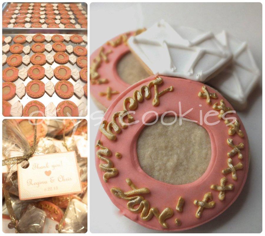 wedding & engagement cookies 44