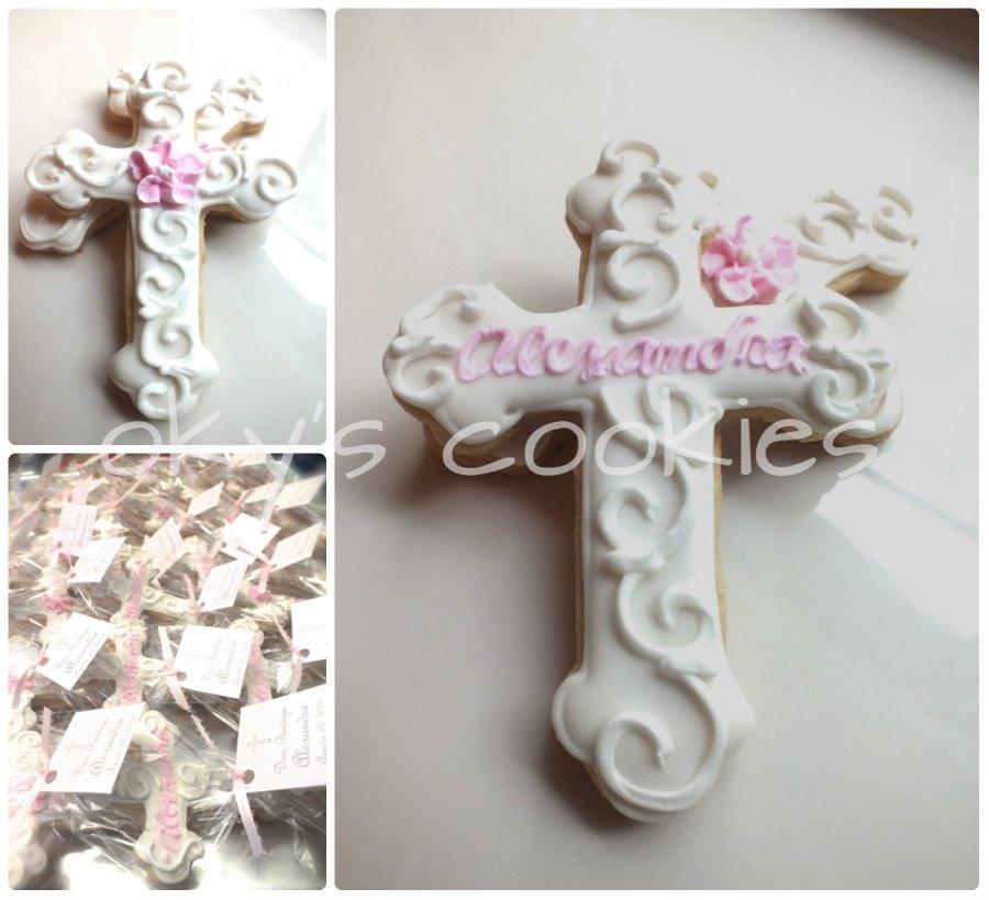 christening cookies 933