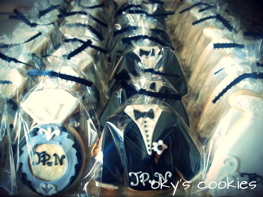 wedding cookies 3330